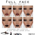 Baiastice_Dark set-Lipstick & eyeshadow